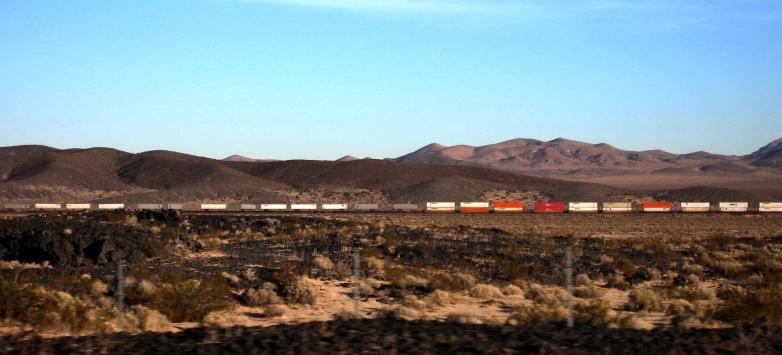 train through southern cal near the arizona border