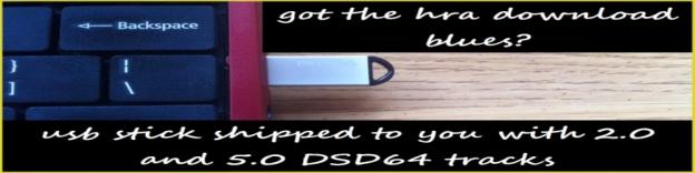 USB Stick - with DSD audio