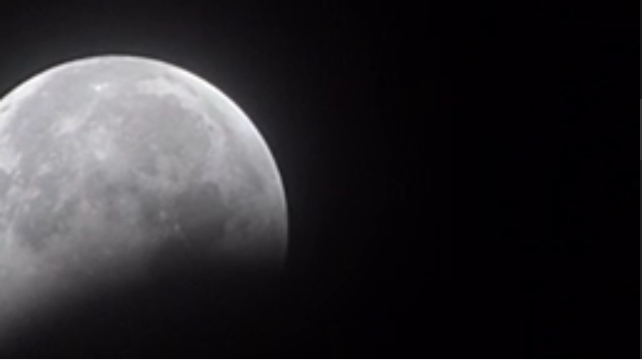See the eclipse video...link below is post.