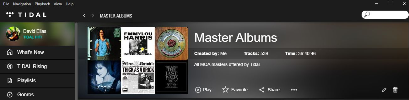 Try TIDAL's offer for 90 days – Hi-Res, MQA Masters streaming to