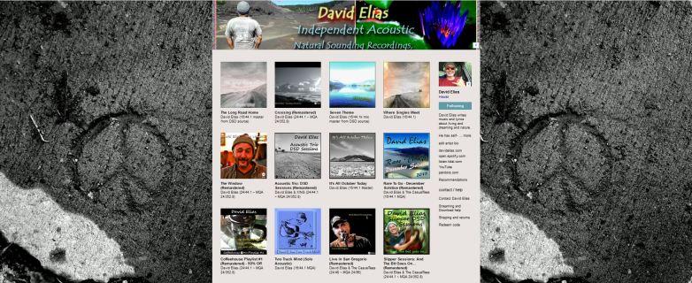 DavidElias-Bandcamp-Catalog